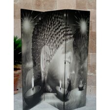 3-tlg Raumteiler 180 cm x 120 cm