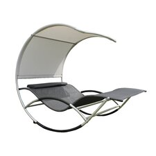 Jumbo Double Sun Lounger with Cushion