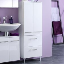 Small 50 x 130cm Tall Bathroom Cabinet