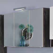 Capri 64 x 80cm Mirror Cabinet