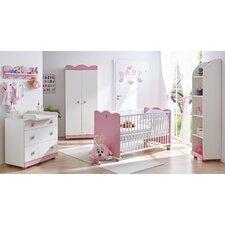 5-tlg. Schlafzimmer-Set Prinzessin