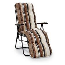 Relaxliege Sylt mit Sitzauflage