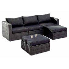 4-tlg. Sofa-Set Aruba mit Kissen
