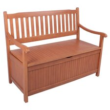 Houston 2-Seater Eucalyptus Garden Bench