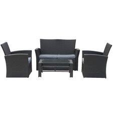 4-tlg. Sofa-Set Oxford mit Kissen