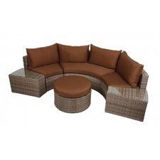2-tlg. Sofa-SetTalavera mit Kissen