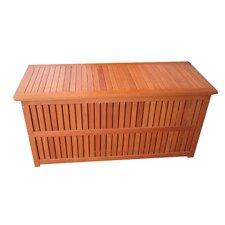 Plano Outdoor Cushion Storage Bin with Interior Foil Pocket