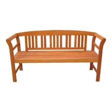 3-Sitzer Gartenbank Harland aus Eukalyptus Grandis FSC