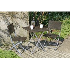 3-tlg. Bistro-Set Norfolk