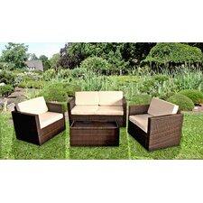 4-tlg. Lounge-Set Barnet