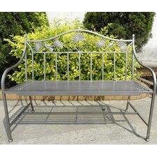 2-Sitzer Gartenbank aus Eisen