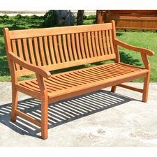 3-Sitzer Bank New Jersey aus Holz