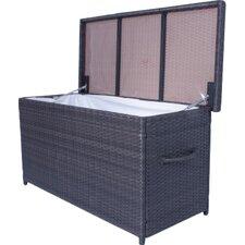 Athen Outdoor Cushion Storage Bin with Interior Foil Pocket