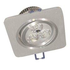 2-tlg. LED-Einbauleuchten-Set Nantes