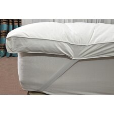 White Goose Feather & Down Mattress Topper