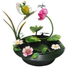 Frog Metal Tabletop Fountain