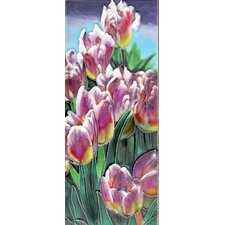 Tulips Tile Wall Decor