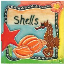 Shells Tile Wall Decor
