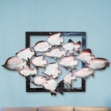 Gallery Aquatic Fish Wooden Wall Décor