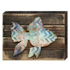 Tropical Coastal Fish Vintage Wooden Wall Décor