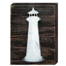 Lighthouse Vintage Nautical Wall Décor