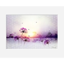 """Gerahmtes Poster """"Sunset"""" von Iris, Grafikdruck"""
