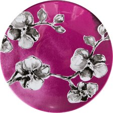 """7"""" Orchid Melamine Luncheon Plate"""