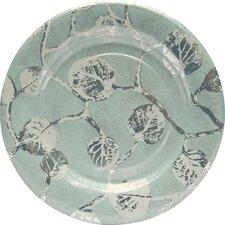 "8.13"" Botanical Leaf Fine Paper Luncheon Plate (Set of 8)"