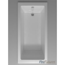 "Drop In or Alcove Bathtub 32"" x 48"" Soaking Bathtub"