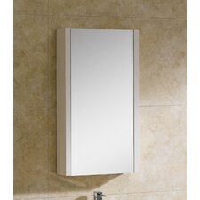 "Modena 17.75"" x 31.5"" Surface Mount Flat Medicine Cabinet"