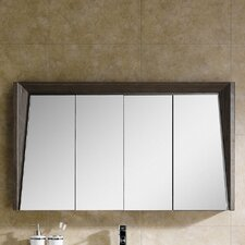 """Imperial II 48"""" x 27"""" Surface Mount Flat Medicine Cabinet"""