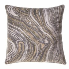 Watercolor Marble Throw Pillow