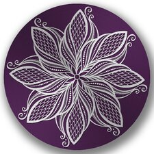 Steel Pirouetee Round 3D Wall Decor