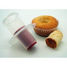 5-tlg. Muffinausstecher-Set Antihaft Crafty Cook mit 5 Nozzles