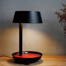 """Carry 16.5"""" H  Table Lamp with Drum Shade"""