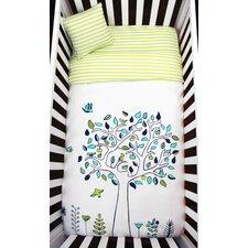 Apple Tree Organic Baby Down Duvet 4 Piece Crib Bedding Set