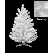 1.5' Snow White Artificial Christmas Tree