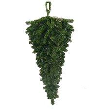 Canadian Pine Artificial Christmas Teardrop Door Swag