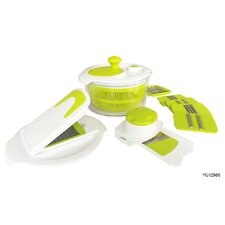 15 Piece Salad Maker Set
