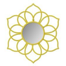 Brienne Metal Flower Wall Mirror