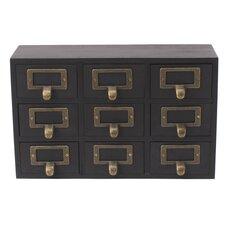 Desktop Solid Wood Apothecary Decorative Box