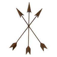 Metal Tribal Arrow Wall Décor