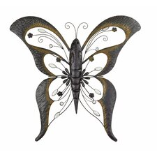 Wrought Iron Butterfly Wall Décor
