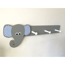 Elephant Peg Rack