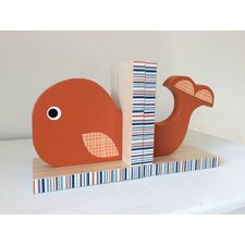 Whale Bookend (Set of 2)