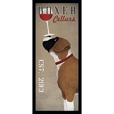 'Boxer Cellars Company' by Ryan Fowler Framed Vintage Advertisement