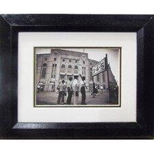 New York's Yankee Stadium Boys Framed Photographic Print