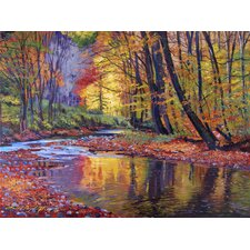 'Autumn Prelude' by David Lloyd Glover Painting Print on Wrapped Canvas