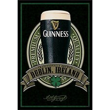 'Guinness Beer Dublin Ireland Traditional Quality' Framed Photographic Print