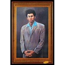 'Cosmo Kramer Portrait - Seinfeld TV Show' Framed Painting Print